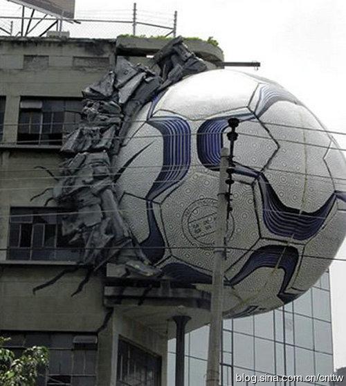 令人惊叹的街头建筑创意广告