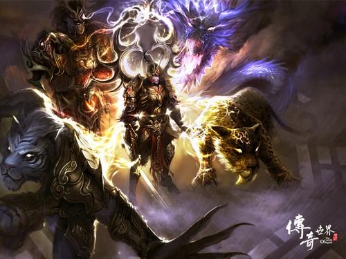 五:闯恶魔城夺盘龙-传奇世界 新区开启 精彩活动玩家热情
