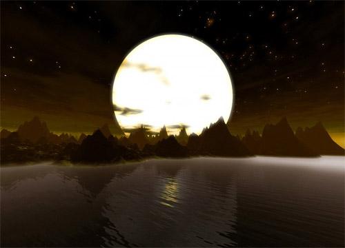 映前电影暖场音乐-城里的月光 5.1声道 dcp打包 mxf封装适合jpeg2000格式