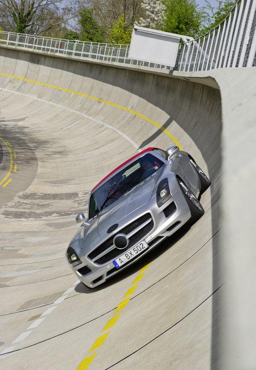 奔驰SLS AMG Roadster