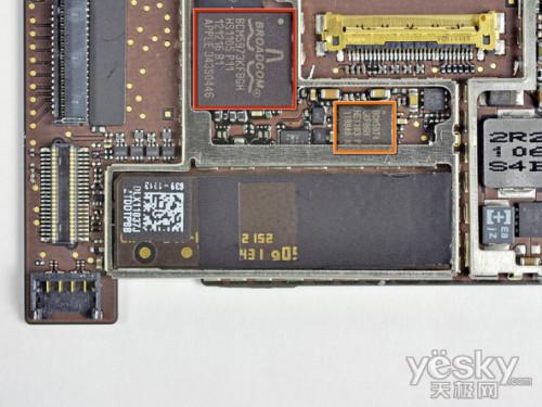 ipad2的电路板完全