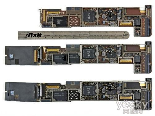 各规格ipad2逻辑电路板