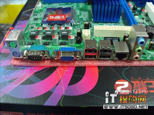 低端高性价比主板 七彩虹g41现售399!
