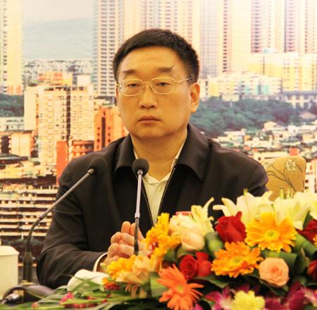 水利部部长陈雷出席并作重要讲话.重庆市市长黄奇帆致辞.