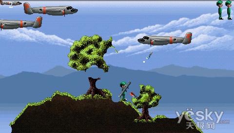 空袭,就是打飞机游戏