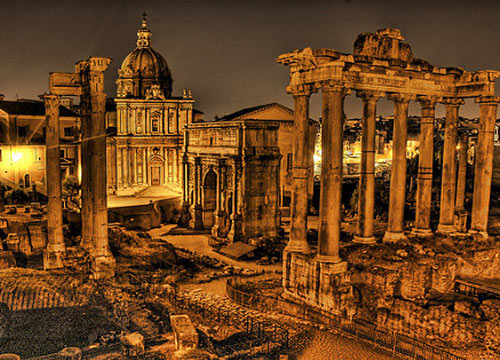 欧式罗马cad