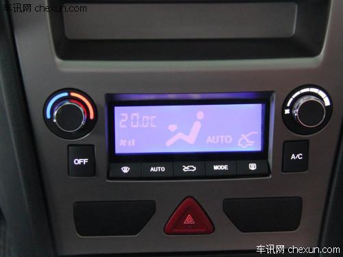 骏捷cross配备的是手动空调