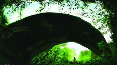 """国家地质公园内的天一巷景区,是崀山风景区的""""六绝""""景观之一,也是"""