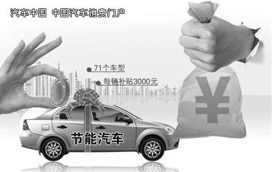 汽车(1.6升及以下乘用车)推广实施细则》(以下简称节能车补贴高清图片
