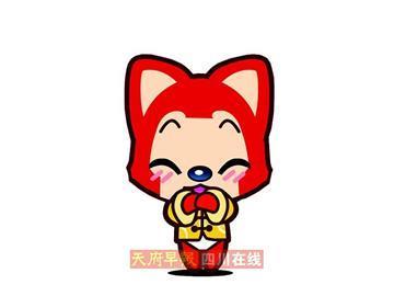 这狸猫可爱就是通的卡阿狸可爱表情宝图片