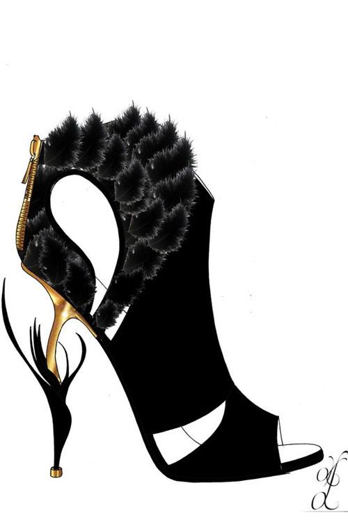 著名鞋类设计师kerrie