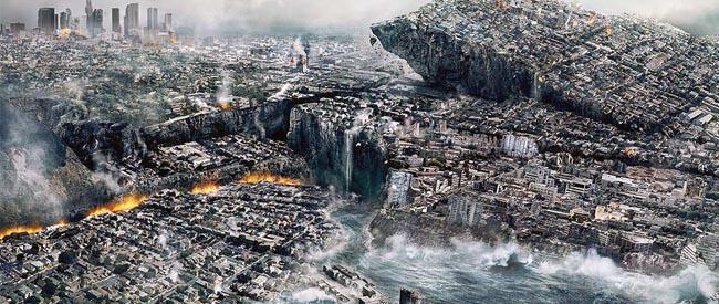 科学家预测世界末日来临时场景