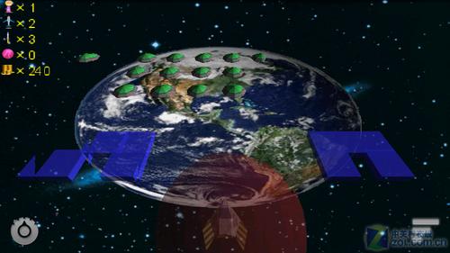 全3d重力感应操控 射击游戏太空堡垒详解