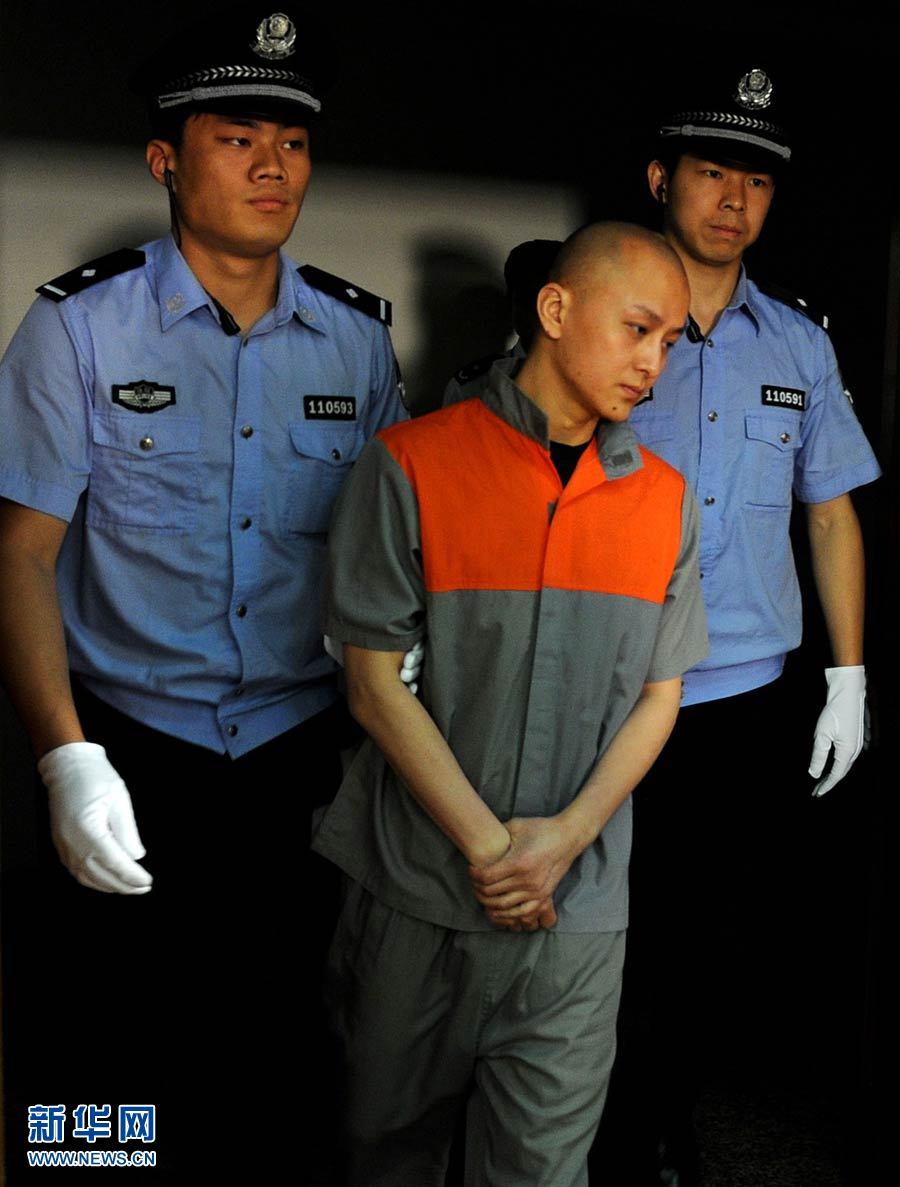 """北京""""英菲尼迪车祸案""""肇事司机陈家被判无期(高清组图"""