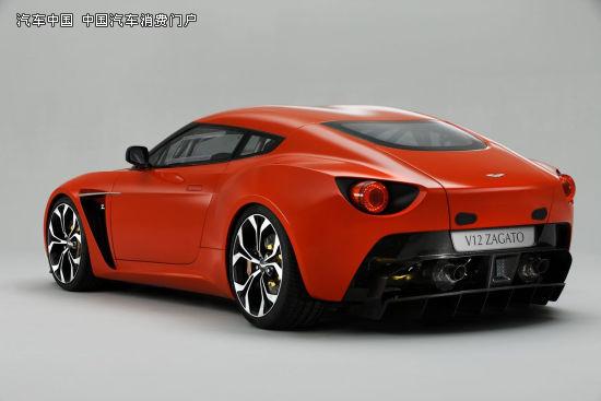 阿斯顿马丁发布V12 Zagato
