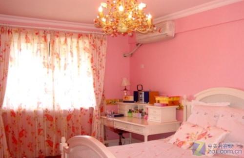 主卧颜色效果图; 房间油漆颜色效果图;   元恺的255.175.190色房间