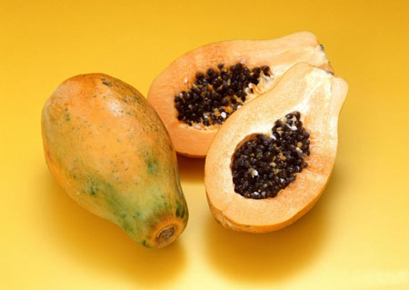 木瓜牛奶美白面膜-夏季美颜讲低碳 天然DIY面膜受追捧