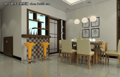 现代家庭餐厅装修效果图赏27