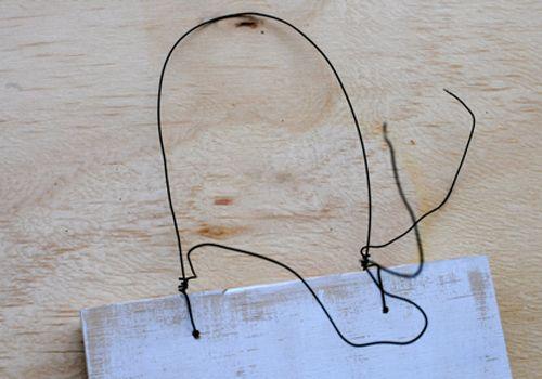 铁丝diy动物立体