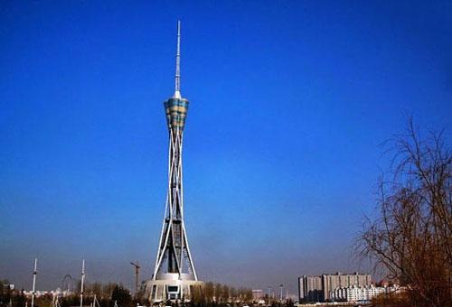 中原钢结构有限公�_268米高空漫步 体验世界上最高全钢结构塔