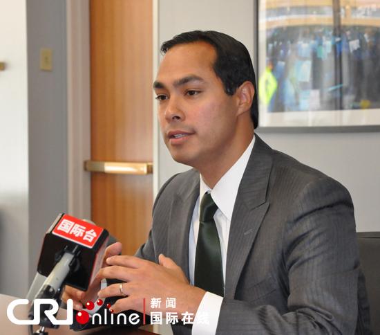 圣安东尼奥市长胡立安 卡斯特罗
