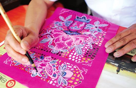 手指纸偶手工制作图片