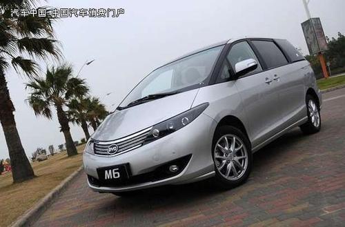 车展新车推荐 低价经济mpv瑞风.和畅 比亚迪m6高清图片