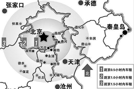 教育科研优势,区位交通优势等众多特有优势条件,京津冀都市圈很可能