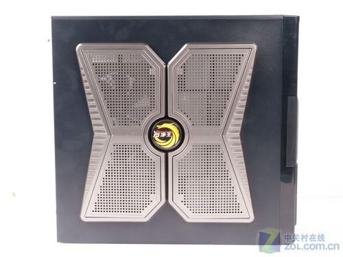 机箱的设计图纸; 机箱侧板;;