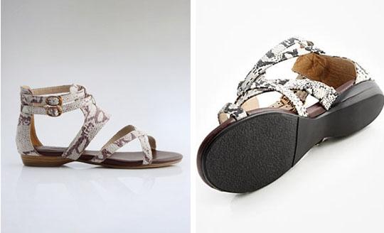 罗马凉鞋_美女吧
