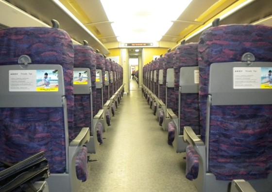 厦门至上海的高铁专列