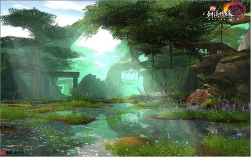 《新剑网3》八十年代新秘境探险仙踪林