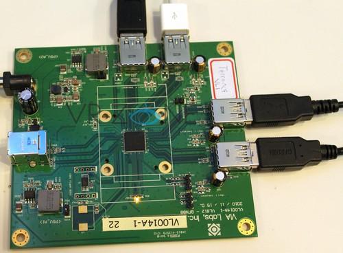 VLI全新设计的USB3.0集线器