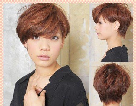 清凉一夏日系发型简约唯美图片