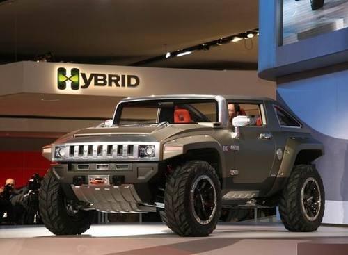 高尔夫球场专用 悍马发布mev hx电动车