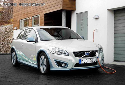 沃尔沃c30电动车已进入量产阶段 先期投入欧洲高清图片