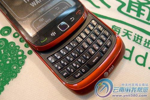 黑莓9800滑盖全键盘手机昆明售3999