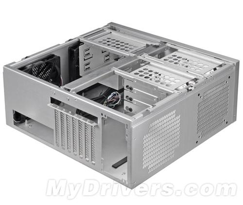 【IT168 资讯】联力近日新发两款全铝机箱新品,包括卧式HTPC机箱PC-C60,以及中塔式新品PC-6。   PC-C60尺寸445x182x410mm,重4.1kg,支持ATX、Micro-ATX和Mini-ITX主板,提供7条标准PCI扩展槽,可支持最长270mm显卡。外部提供两组5.25寸光驱位,内部则包括3组2.5寸硬盘位和6组3.