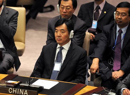 国际社会要推动利比亚问题的政治解决.    摄 -中国认为利比亚问题