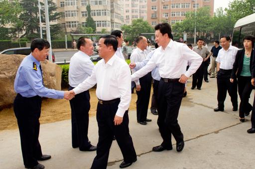 刘赐贵局长到青岛市海洋与渔业局调研提出十项支持意见
