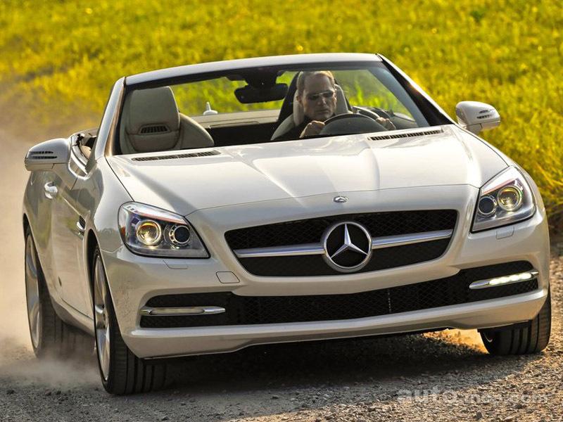 梅赛德斯 奔驰slk350高清图片