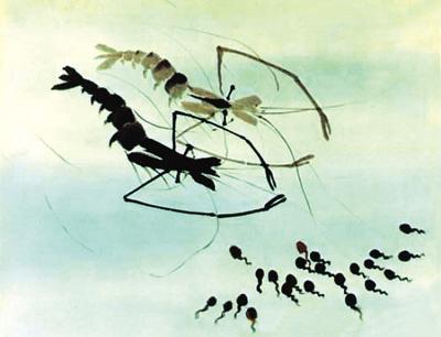 《功夫熊猫》导演曾搜集大量国画及水墨动画素材