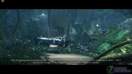 游戏中潘多拉星球丛林景色