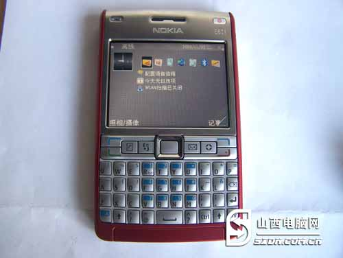 全键盘商务智能手机诺基亚e61i低价