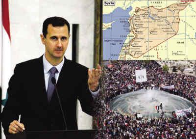 [转载]号外号外,叙利亚总统巴沙尔宣布下台,叙利亚人