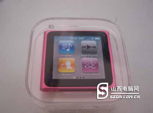 音乐随身听 ipod nano 6尽享娱乐生活