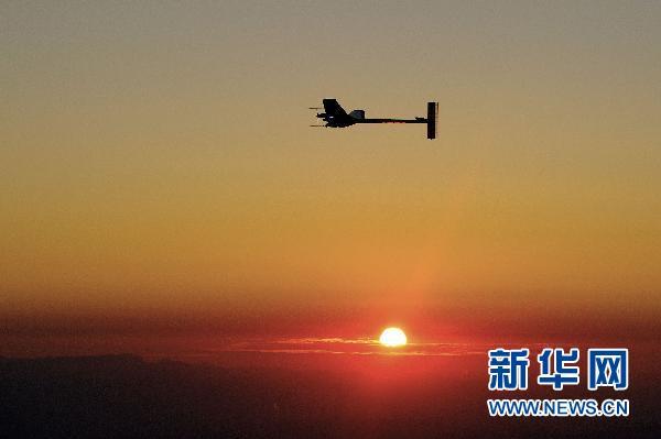 世界最大太阳能飞机:在黑夜追赶白天的脚步