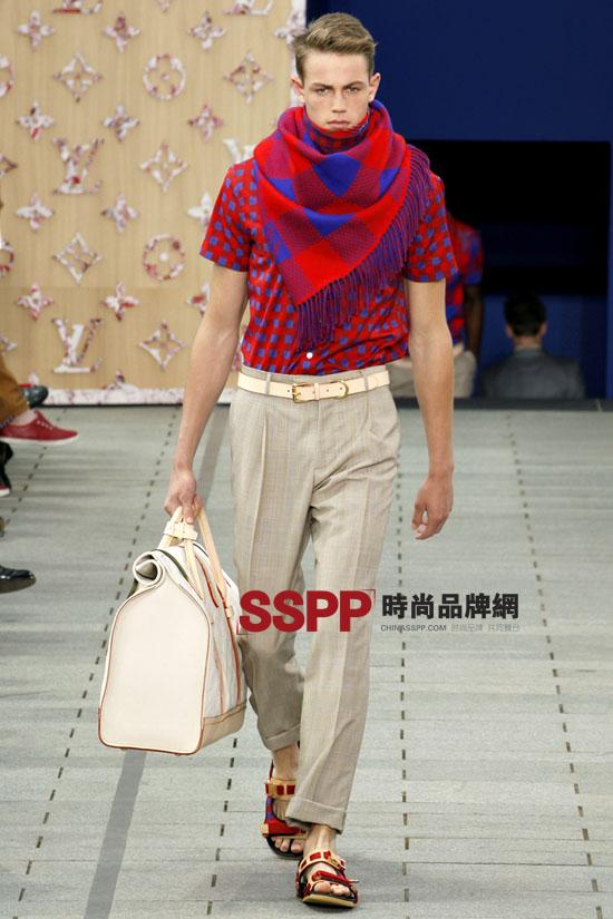 lv图片2012春夏男装秀发布