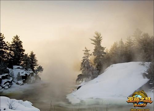 俄罗斯雪景