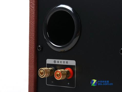 麦博h20雅皮士蓝牙音箱:副箱接口细节